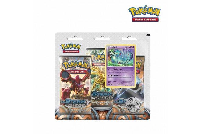 Pokémon TCG 3 PACK BLISTER Steam Siege
