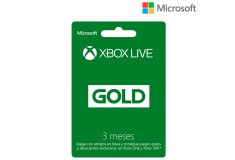Xbox Live Gold 3 mese