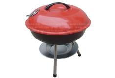 Asador BBQ A Carbón para Mesa Rojo RY22014A