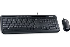 Teclado + Mouse MICROSOFT Wired Desktop 600