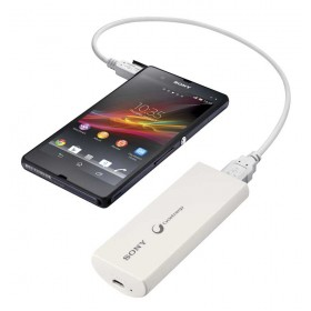 Cargador Smartphone SONY USB/Micro 2800mAh CP-V3 Blanco