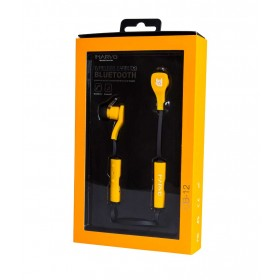 Audífonos MARVO InEar Inalámbricos Bluetooth Amarillos