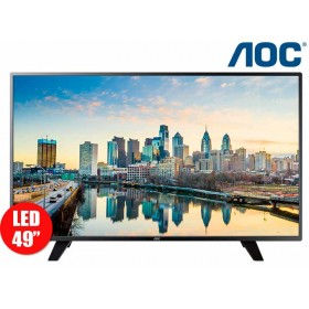 """Tv 49"""" 124cm LED AOC 49F1861 FullHD Internet"""