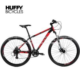 """Bicicleta de montaña HUFFY de 29"""" Negro/Rojo"""