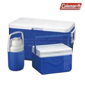 Set Hielera COLEMAN azul