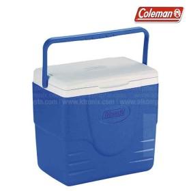 Hielera azul COLEMAN soporta hasta 22 latas