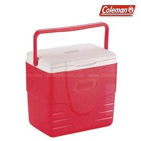 Hielera roja COLEMAN soporta hasta 9 latas