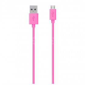 Cable BELKIN USB / Micro USB 1.2M - Rosado