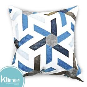 Cojín K-LINE Asterísco Azul 45x45 cm