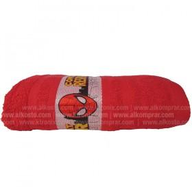 Toalla FATELARES Telaraña 70 x 130 Rojo