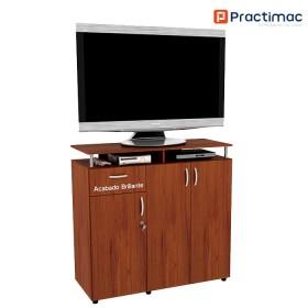 Armario Tv PRACTIMAC Splendor Cedro pm10035CE(B) Brillante