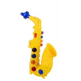 Saxofón eléctrico Red box Amarillo