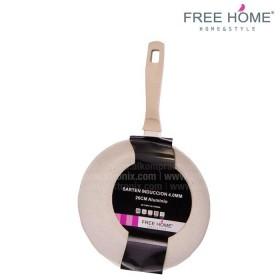 Sartén Inducción - FREE HOME 26 Cm Crema BFT-MFP