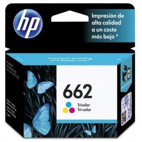 Cartucho HP 662 Tri-Color