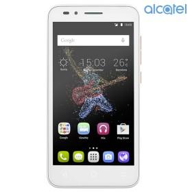 Celular ALCATEL Go Play 4G Blanco - Naranja