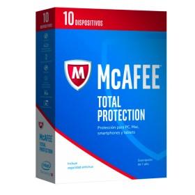 Antivirus McAFEE 2017 Total Protection 10 Dispositivo