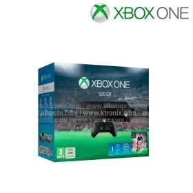 Consola XBOX ONE 500GB + 1 Control + Videojuego FIFA 16