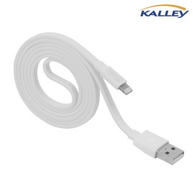Cable USB/ Lightning KALLEY Blanco