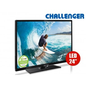 "TV 24"" 60cm LED CHALLENGER 24L21 T2 HD"