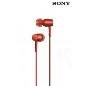 Audífonos SONY internos MDR-EX750AP Rojo con audio de alta resolución