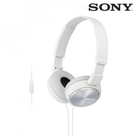 Audífonos SONY de diadema MDR-ZX310 Blancos con manos libres y almohadillas