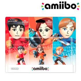 Amiibo Mii fighter 3 PACK