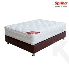 KOMBO: Colchón SPRING Passion New 7 Extradoble + Base cama Salim Doble