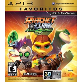 Videojuego Sony PS3 Ratchet and Clank - All 4 One