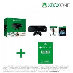 Consola XBOX ONE 500GB + 1 Control + Videojuego Quantum Break + Xbox live 3 meses
