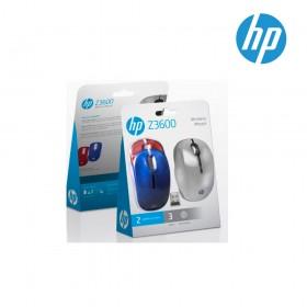 Mouse HP Inalámbrico Láser Z3600 3 Colores
