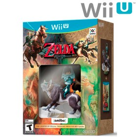 Videojuego Wii U Legend Zelda Twiligh  Princess HD
