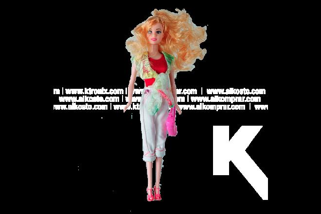 Muñeca Koler Fashion Artist