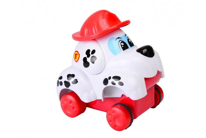 Coche dálmata bombero Keenway Fun on Wheels Rojo.