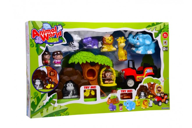 Playset mundo animal Keenway