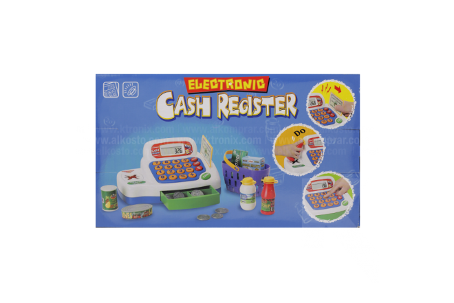 Juguete Caja Electronic Cash Register