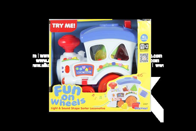 Juguete Tren Infantil Fun On Wheels