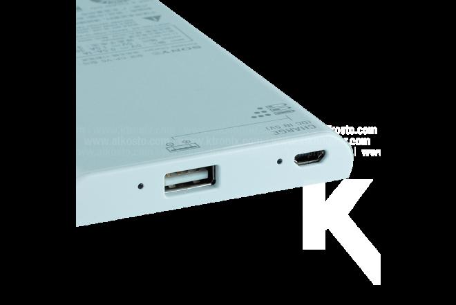 Batería Recargable USB/Micr 5000 mAh Blanco