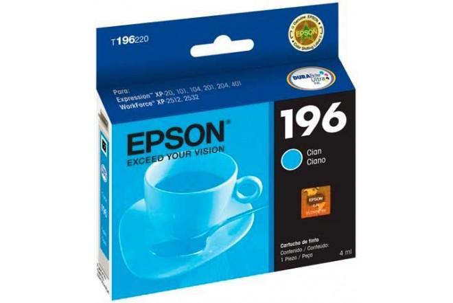 Cartucho EPSON T196220-AL Cian