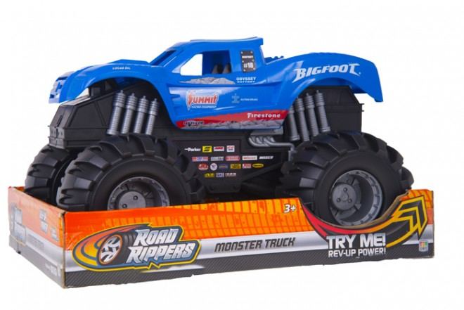 Vehiculo Out Door MonsterTruck TOY STATE - ROAD RIPPERS Azul