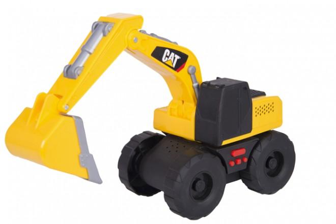 Retro-excavadora Big Builder CATERPILLAR -  TOY STATE Luces& Sonido Amarilla