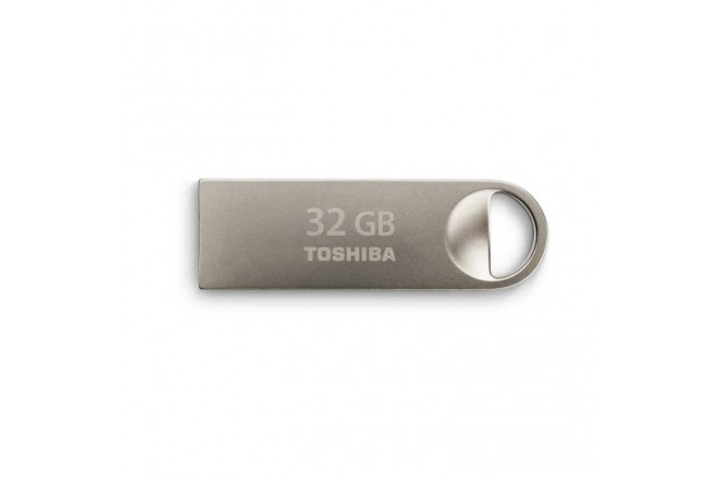 Memoria Mini USB TOSHIBA 32Gb 2.0 Metalica
