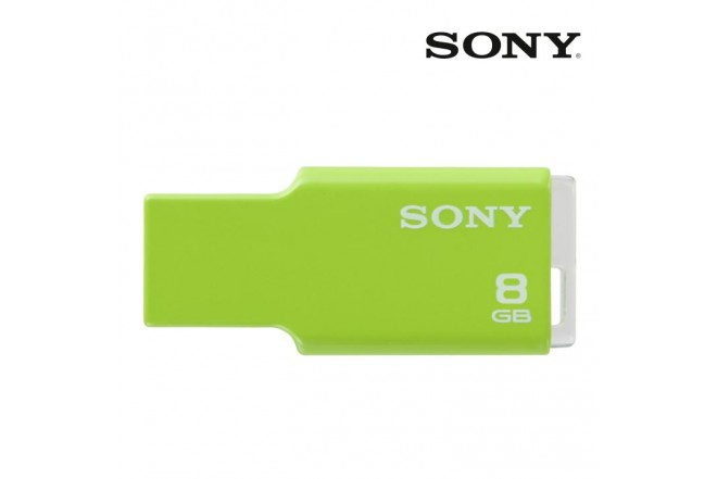 Memoria USB SONY Microvault 8GB Verde