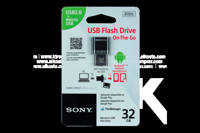Memoria SONY Smartphone 32GB Negro