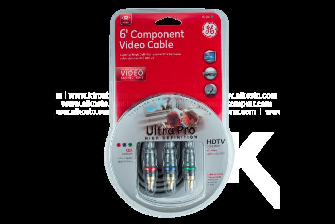 Set GENERAL ELECTRIC de Cables de Video