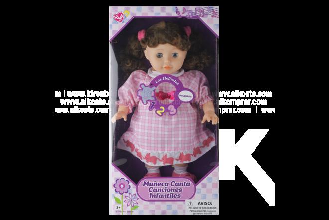 Muñeca Canta Canciones Infantiles