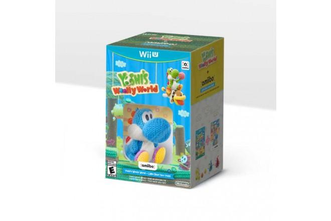 Kombo videojuego Yoshi's Woolly World + BlueYarn Yoshi