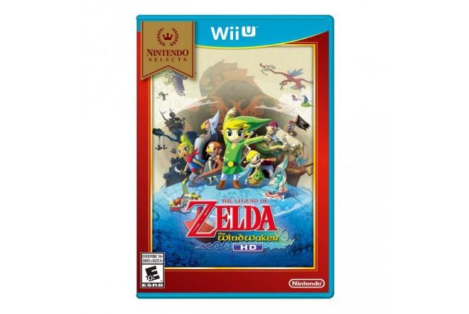 Videojuego Wii U Legend Of Zelda Wind Waker HD