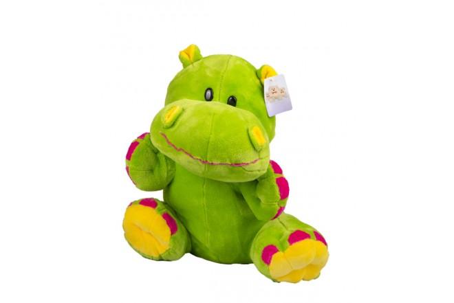 Hipopótamo de peluche Best Made Toys Verde