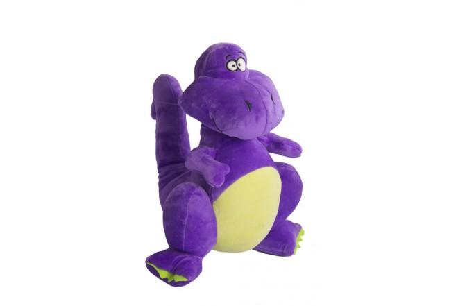 Dinosaurio de peluche Best Made Toys Morado