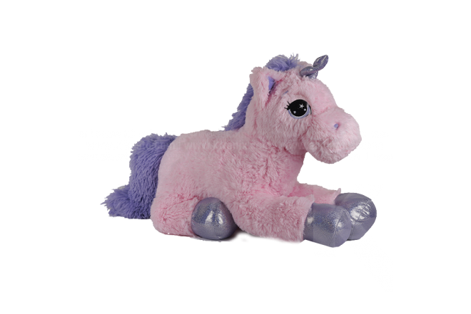 Peluche Unicornio Acostado 55 cm
